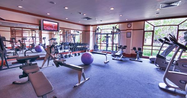 Fitness Centre Steam Jacuzzi Sauna Luxury Hotel In